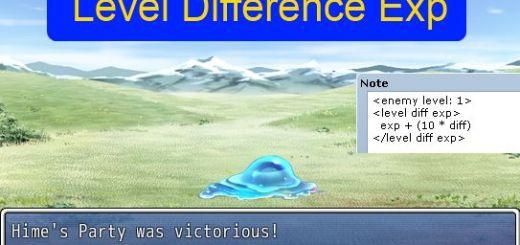 LevelDifferenceExp