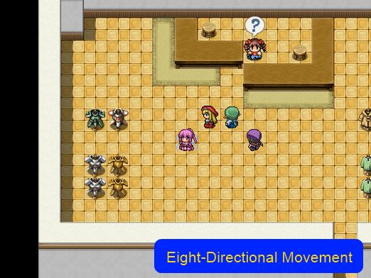 Eight Directional Movement – 姫HimeWorks