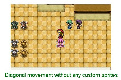 Introducing Diagonal Movement into RPG Maker – 姫HimeWorks