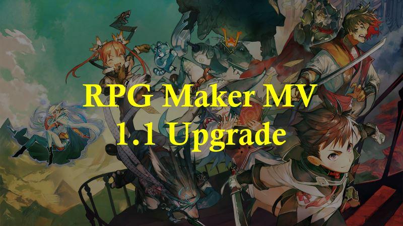 RPG Maker MV Version 1 1 0 Upgrade – 姫HimeWorks