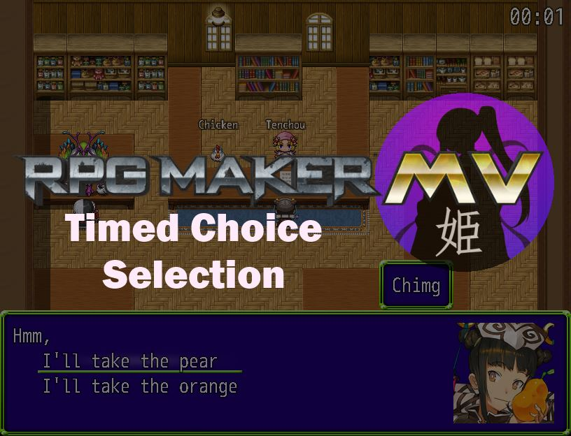Timed Choice Selection – 姫HimeWorks